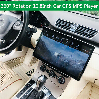 12.8'' Double Din Car Stereo Bluetooth Touchscreen MP5 Player FM CarPlay Android