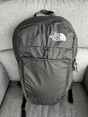 NEW The North Face TNF Flyweight Pack 17L BLACK Travel Packable Backpack Daypack