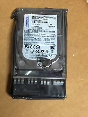 "New 1tb SATA Hard Drive 2.5"" w/ Caddy Lenovo ThinkServer 03T6530"