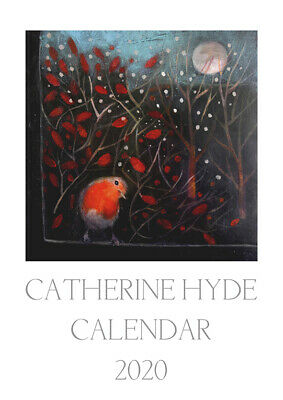 CATHERINE HYDE 2020 WALL CALENDAR Planner GODDESS HARE PAGAN WICCAN HOME OFFICE