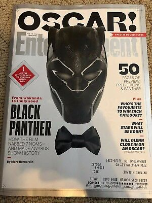 entertainment weekly black panther Oscar double issue 2019 academy awards
