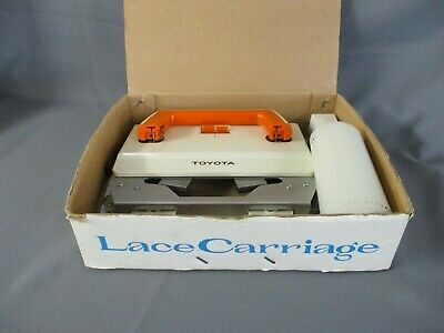 Toyota Lace Carriage - 210110 - Knitting Machine Accessory - Vintage