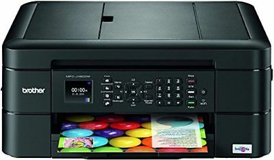 NEW Brother MFC-J480dw/J491dw Wireless Printer-Print-Copy-Scan-Fax+included INK