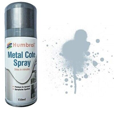 COLORE ACRILICO SPRAY HUMBROL AD6996 METAL COTE MODEL & CRAFT 150ml