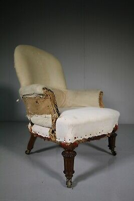 19th Century Gillows of Lancaster Antique Armchair