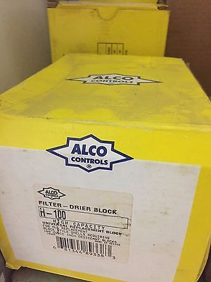 Alco H-100 Filter Drier Block *LOT of 3*