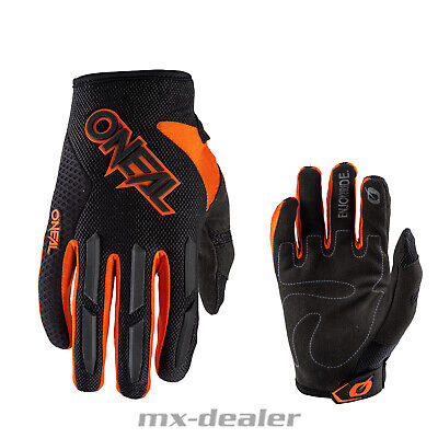 2020 Oneal Element Handschuhe Orange MTB MX Motocross Cross Enduro Quad Supermo