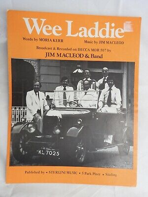 Wee Laddie - Jim MacLeod & Band  single sheet music piano vocal