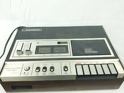 Vintage Panasonic RS-262US Cassette Deck Recorder Tested/Working