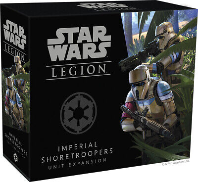 Star Wars Legion - Shoretroopers Unit Expansion Factory Sealed Bran New FFG