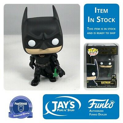 Funko POP Heroes: Batman 80th - Batman (1995) w/ PopShield In Stock