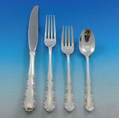Shenandoah by Wallace Sterling Silver Flatware Set for 8 Service 32 pieces
