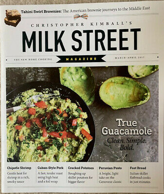 Christopher Kimball's Milk Street Magazine March-April 2019 Recipes, Techniques