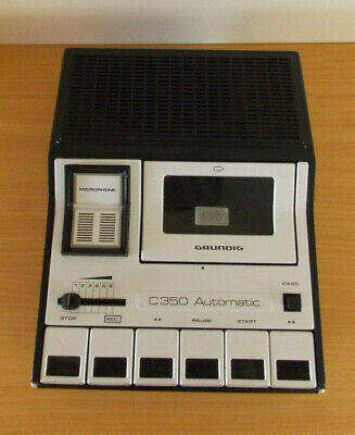 Grundig C350 Automatic Cassette Recorder Rare Vintage Fully Working