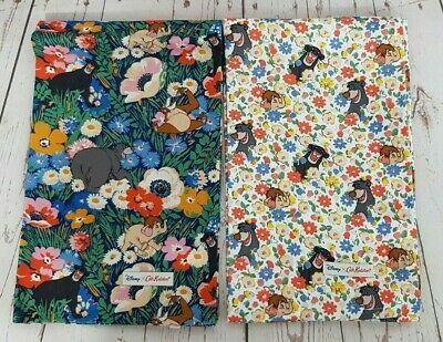Cath Kidston x Disney Jungle Book Two Tea Towels Jungle Flowers New with Tag