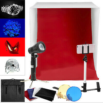 """16"""" Light Tent Kit Backdrop Cube In A Box Mini Stand Photography Photo Studio"""