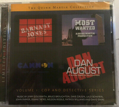 The Quinn Martin Collection - Volume 1: Cop and Detective Series - Limited CD