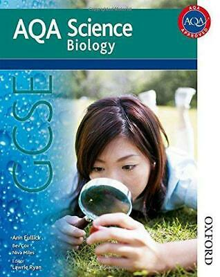 New AQA Science GCSE Biology (Aqa Science Students Book), Ann Fullick, Good Cond
