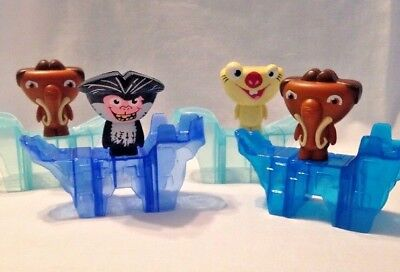 Mcdonalds 2012 Ice Age Continental Drift Complete Set 1 6 Fast Food Toys Hobbies Fast Food Cereal Premiums