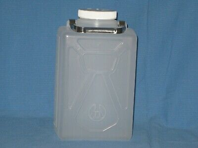 NALGENE 8 liter ldpe rectangular bottle jug 2 Gallon Capacity steel handle