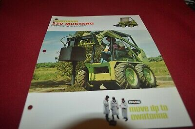 Owatonna 330 Mustang Skid Steer Loader Dealer's Brochure AMIL15