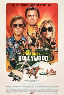 Once Upon A Time In Hollywood 24 X 36 Poster