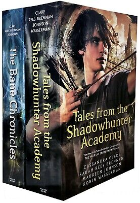 Bane Chronicles Series Cassandra Clare 2 Books Collection Set Shadowhunter Acade