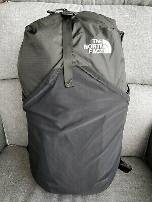 NEW The North Face TNF Flyweight Pack 18L BLACK Travel Packable Daypack Backpack