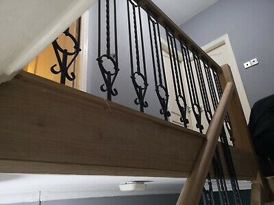 Wrought Iron Stair Spindles/Decking Panels