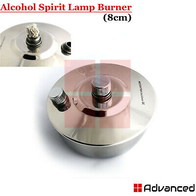 Dental Spirit Lamp Ethyl Alcohol Bunsen Burner Laboratory Jewelers Equipment