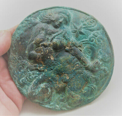 Unresearched Ancient Near Eastern Bronze Panel Very Interesting