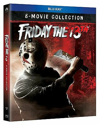 Friday The 13th - 8 Movie Blu Ray Collection - Blu Ray  - NEW & Sealed - Box Set