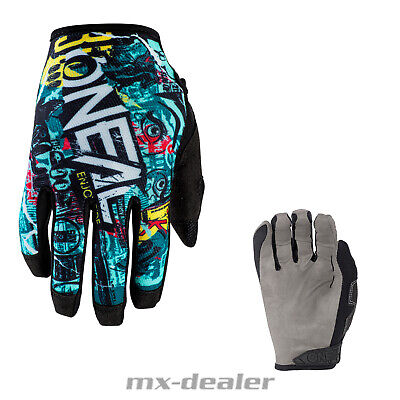 2020 Oneal Mayhem Savage Handschuhe schwarz MTB MX Motocross Cross Enduro Quad