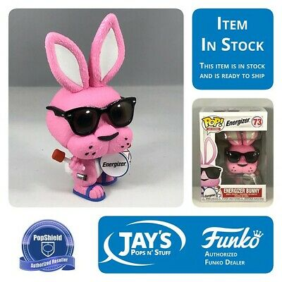 Funko POP! Ad Icons - ENERGIZER BUNNY w/ Protector In Stock 11/11