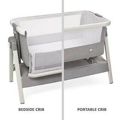 ComfyBumpy Bed Side Crib for Baby - Sleeper Bassinet, w/ Travel Case, urine pad