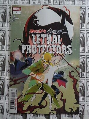 Absolute Carnage Lethal Protectors (2019) Marvel - #1, Tieri/Armentaro, FN/VF