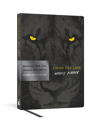 Chase the Lion Weekly Planner by Mark Batterson