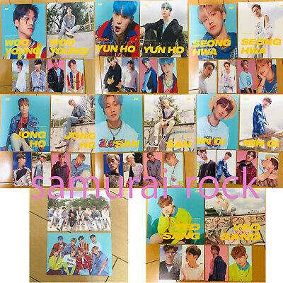 ATEEZ all member official photocard photo card illusion wave treasure ep 3