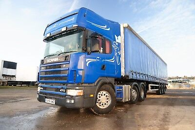 Scania 124L-470 6x2 MidLift Classic truck SDC Insuliner lorry vintage
