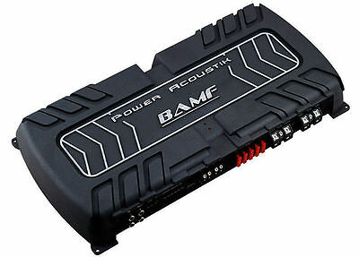 New Power Acoustik Bamf1-8000D Monoblock 8000W Max Class D Amplifier Amp Mono