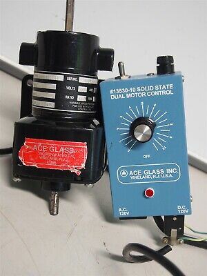 Ace Glass 13530-10 Dual Motor Control With Motor 099B0000200004