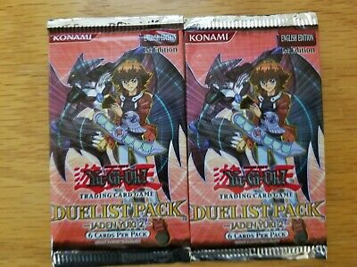 YuGiOh 2x Sealed Packs Duelist Pack Chazz Princeton 1st Edition New