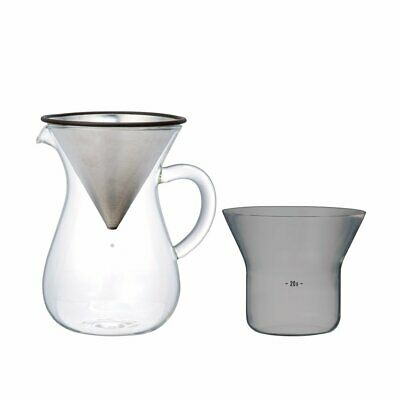 BRAND NEW: A KINTO Coffee Carafe Set SCS-02-CC 300 ml 27620 from JAPAN