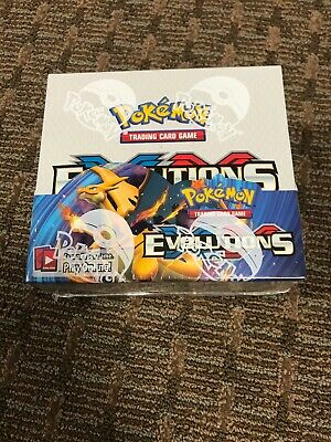 Pokemon XY Evolutions Booster Box - 36 Booster Packs - NEW / SEALED (MINT)