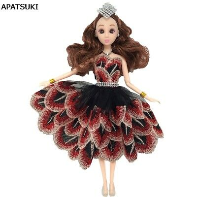"Peacock Feather Dancing Costume Fashion Clothes For 11.5"" Doll Outfits Dress 1/6"