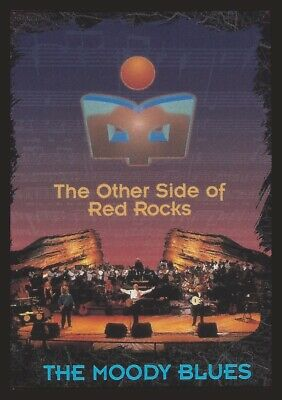 """Moody Blues Original DVD """"The Other Side of Red Rocks"""""""