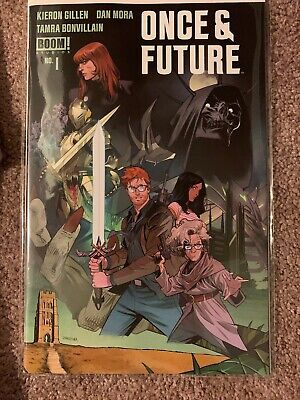 Once And Future #1 2nd Print BOOM Studios Hot Comic Hard To Find.
