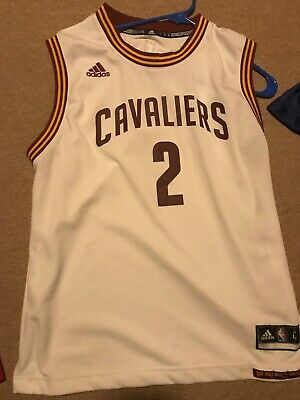 reputable site 01cd0 a96f7 KYRIE IRVING ADIDAS Cleveland Cavs Jersey Youth M Medium ...