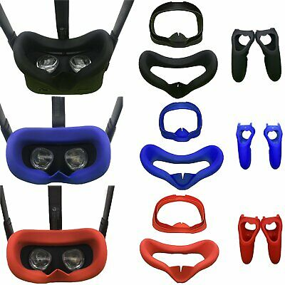 VR Eye Mask Face Cover Handle Controller Case for Oculus Quest Virtual Reality