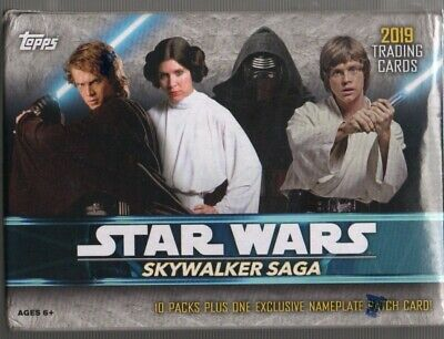 Topps 2019 Star Wars Skywalker Saga 61Trading Card Blaster Box 1 Exclusive Card